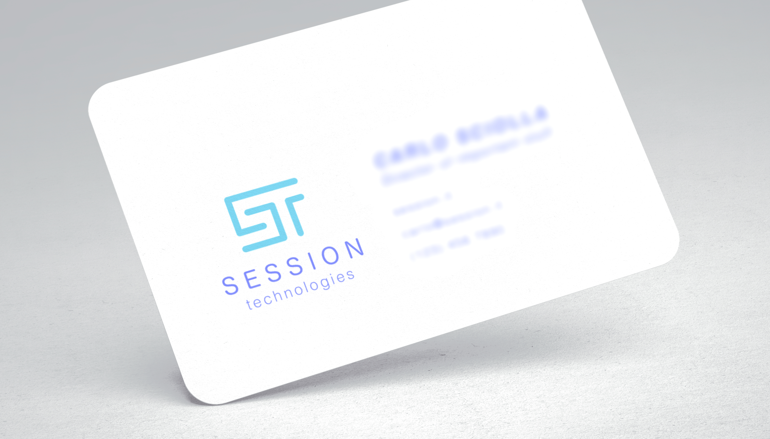 business card logo preview